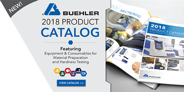 Check out the 2018 Buehler Product Catalog!