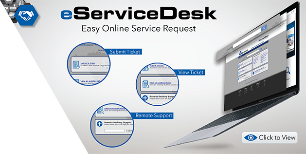Visit eServiceDesk for all you Buehler Service Request Needs!